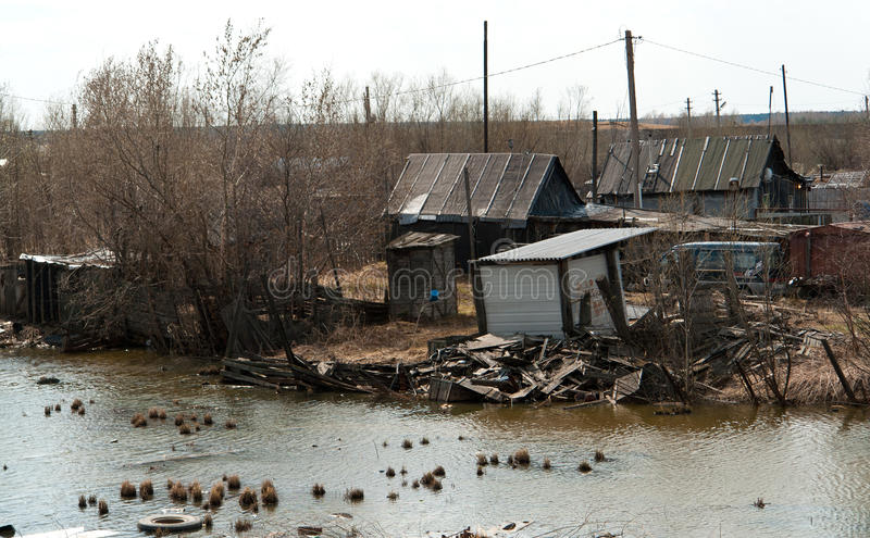 Download Slums stock image. Image of shanty, housing, ghetto, water - 17075337