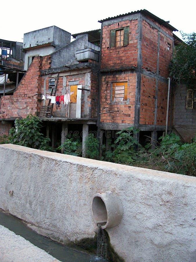 Slums. In rio de janeiro, brazil royalty free stock photos