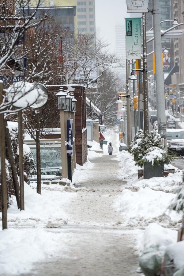 Download Slushy sideway editorial photo. Image of vertical, snow - 28402406