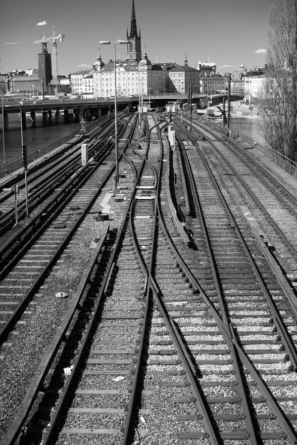 Download Slussen stock photo. Image of subway, dalahast, white - 23358086