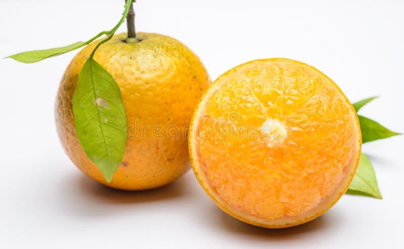 Slut upp av den nya apelsinen fotografering för bildbyråer