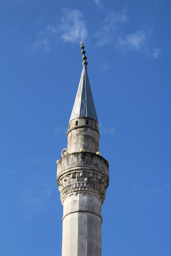 Download Slut upp av en minaret fotografering för bildbyråer. Bild av religion - 78725115