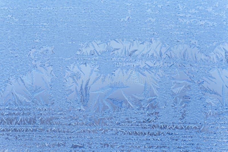 Slut upp av frost royaltyfria foton