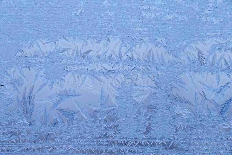 Slut upp av frost royaltyfri foto