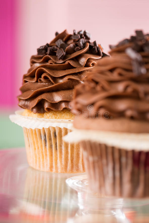 Slut upp av muffin royaltyfri foto