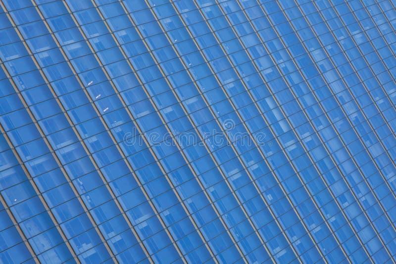 Slut upp den glass byggnadsdetaljen i manhattan - New York USA arkivbilder