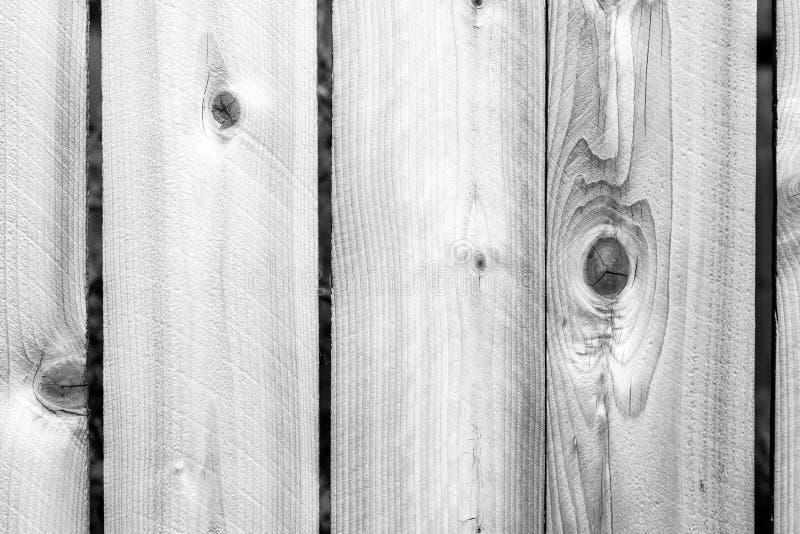 Slut upp riden ut vit träbakgrundsyttersida Nytt träwal arkivbild