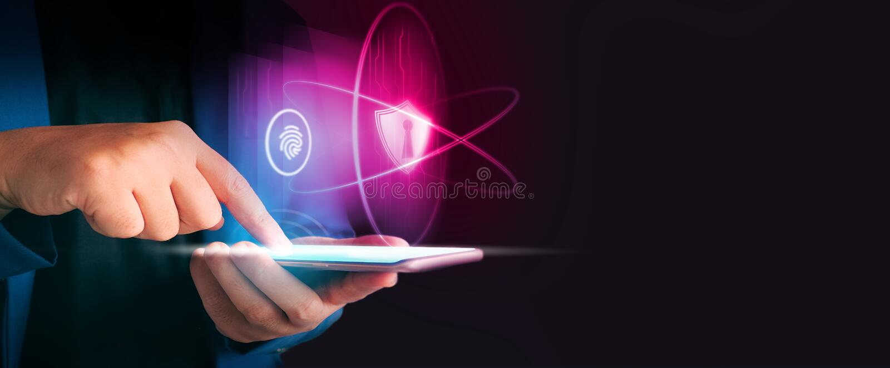 Slut upp telefonen för formell blå för dräkt för affärsman den smarta håll för bruk i mörkret arkivfoton