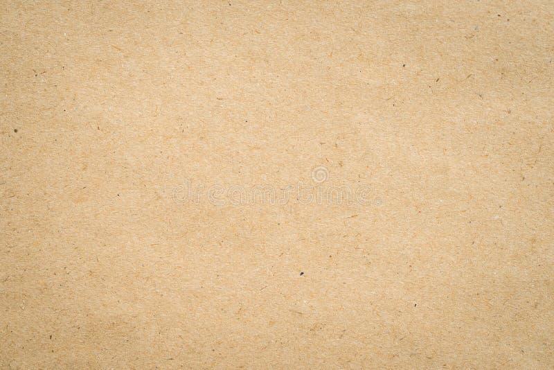 Slut upp textur och bakgrund kraft för brunt papper royaltyfri bild