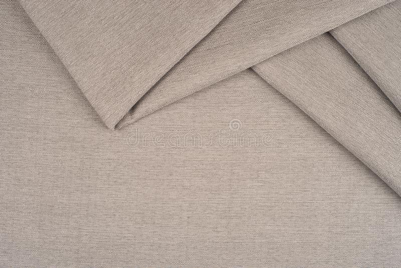 Slutet av ett woolen tyg av grå färger färgar upp royaltyfri fotografi