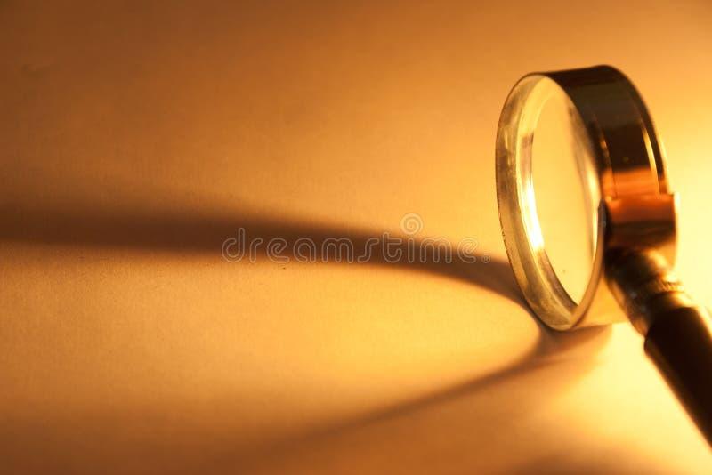 Förstoringsglas. royaltyfria foton