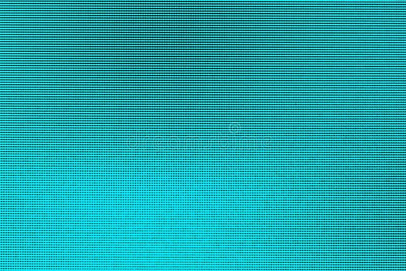 Slutet ledde upp skärmtexturblått pricker ljus abstrakt bakgrund från bildskärmskärmen för den ledde datoren royaltyfria foton