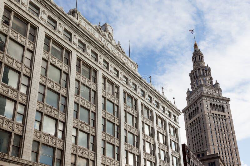 Slutligt torn, Cleveland, Ohio royaltyfri foto