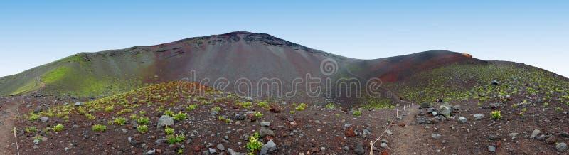Slutta av Mount Fuji arkivfoto