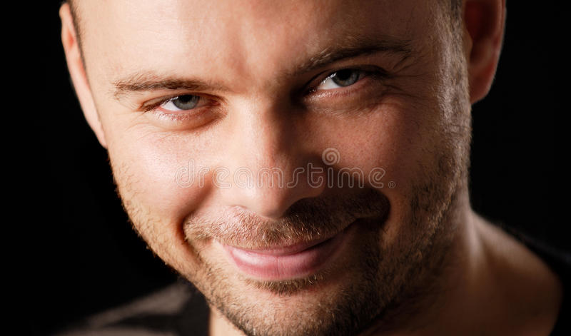 Sly man royalty free stock photos