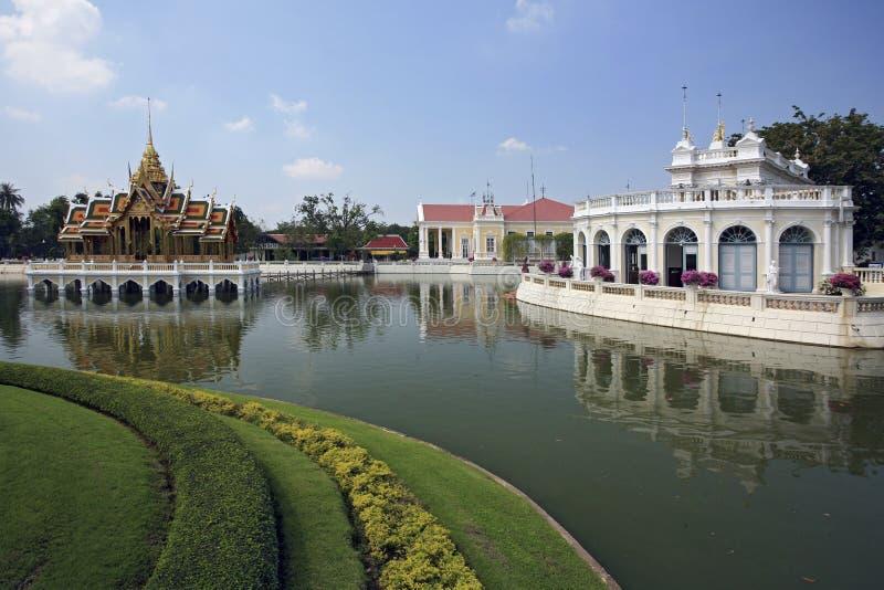 Smäll Pa-I Den Kungliga Slotten - Ayutthaya, Thailand Royaltyfri Fotografi