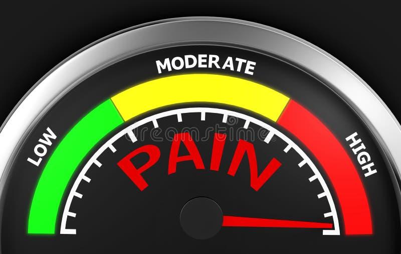 smärta stock illustrationer