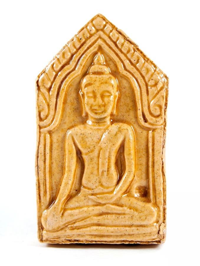 Små buddha bildamuletter royaltyfri bild