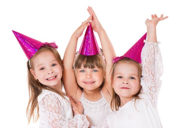 Små flickor royaltyfri fotografi