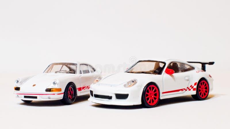 Små Porsche utvecklingar royaltyfria bilder
