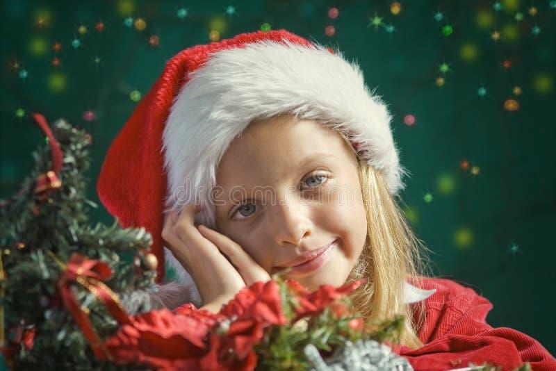 Små Santa royaltyfri fotografi