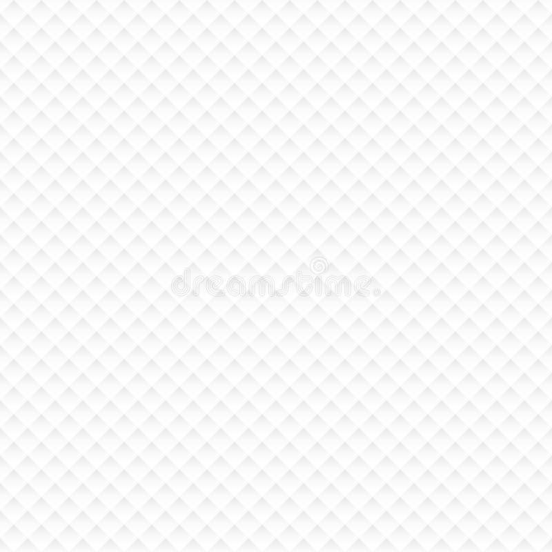 Små vitbokhörn för sömlös modell med skugga stock illustrationer