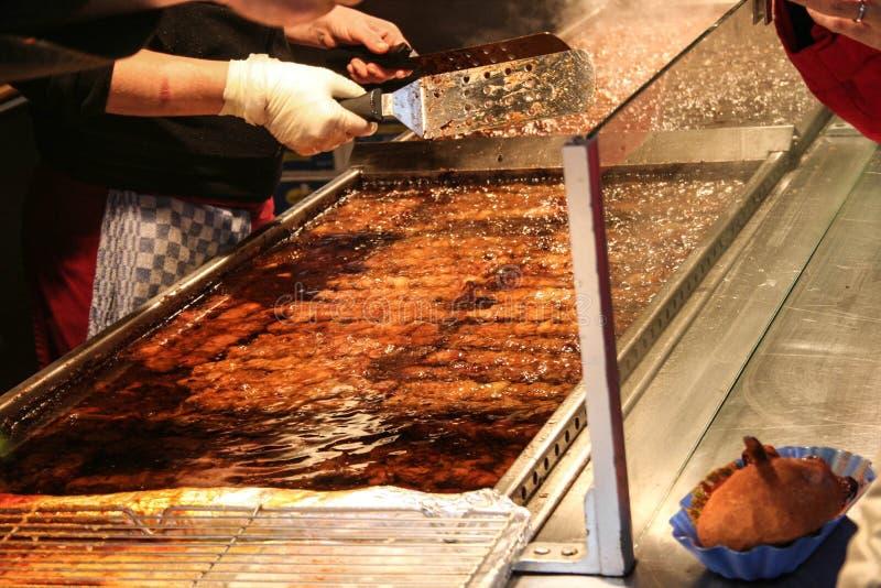 Småfiskgata - mat arkivbilder