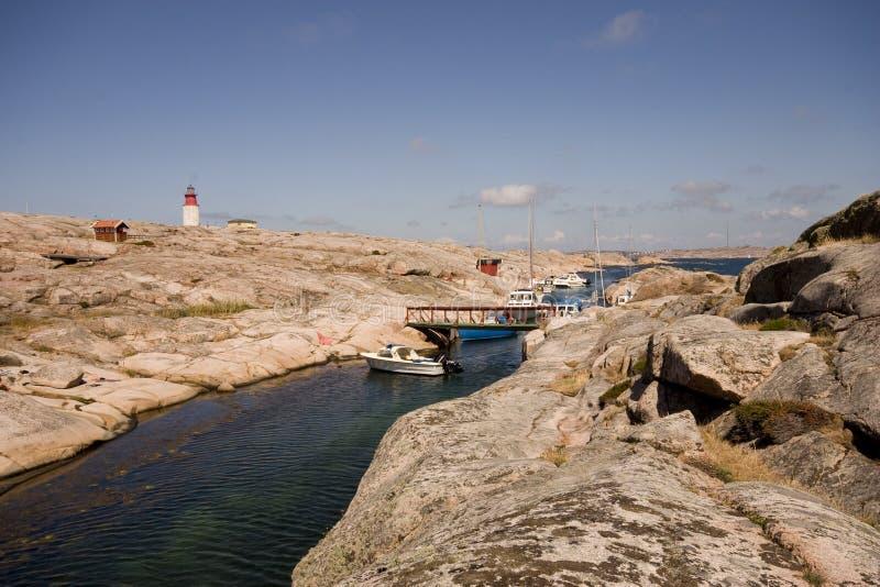 Smögen, Suède image libre de droits