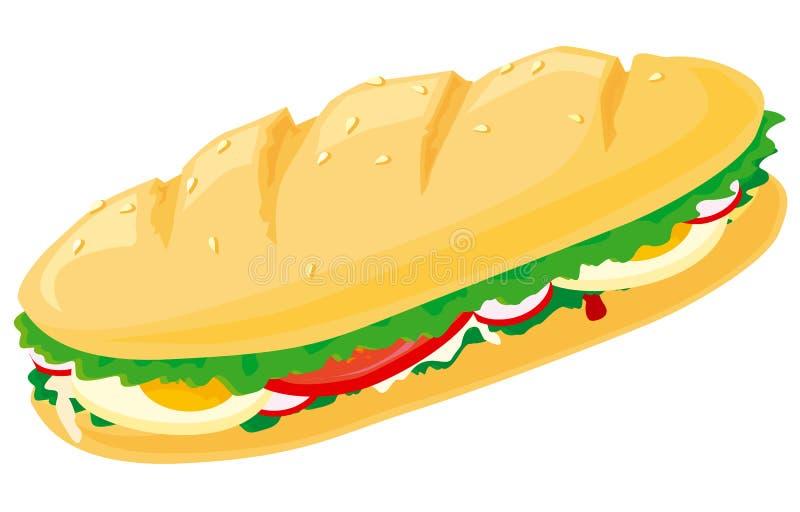 smörgås vektor illustrationer