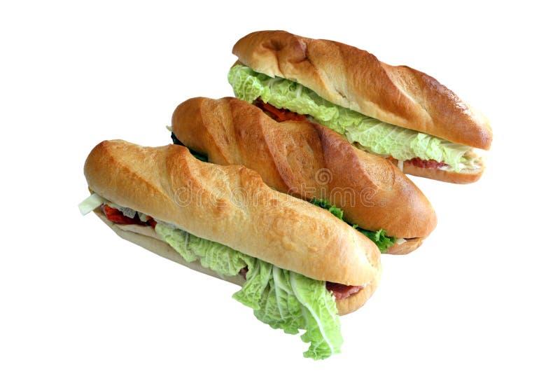 smörgåsar arkivfoton