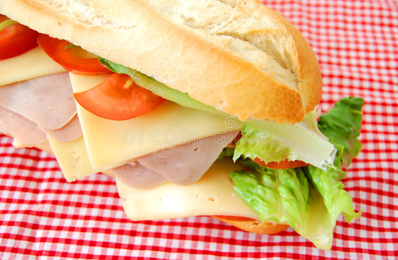 smörgåssub arkivfoton