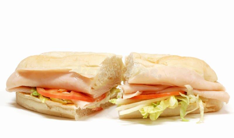 smörgåsubåtkalkon royaltyfri foto