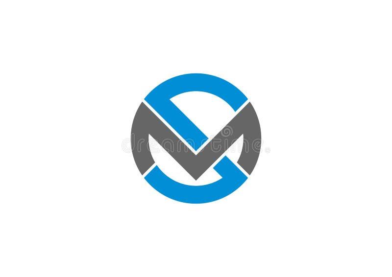 SM λογότυπο διανυσματική απεικόνιση