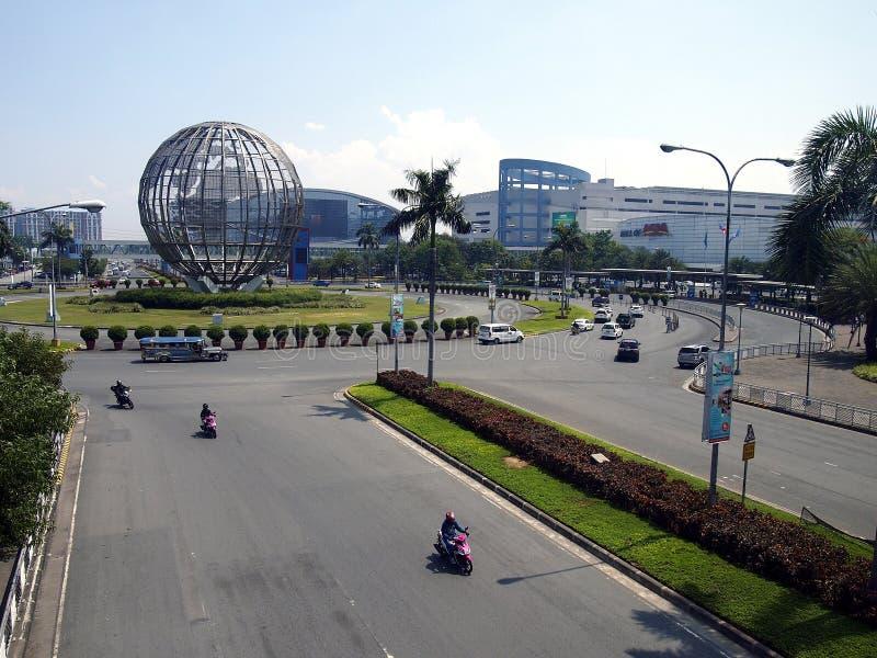 Sm-gallerian av Asien eller SM-MOA är ansedd att vara tredjedelen - den största gallerian i världen arkivbilder