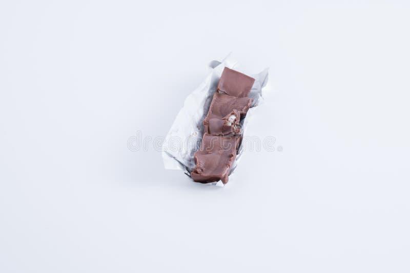 sm?ltt st?ngchoklad arkivbilder