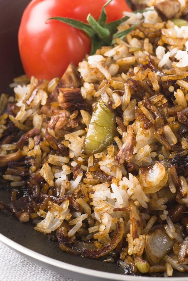 smażący ryż obrazy stock