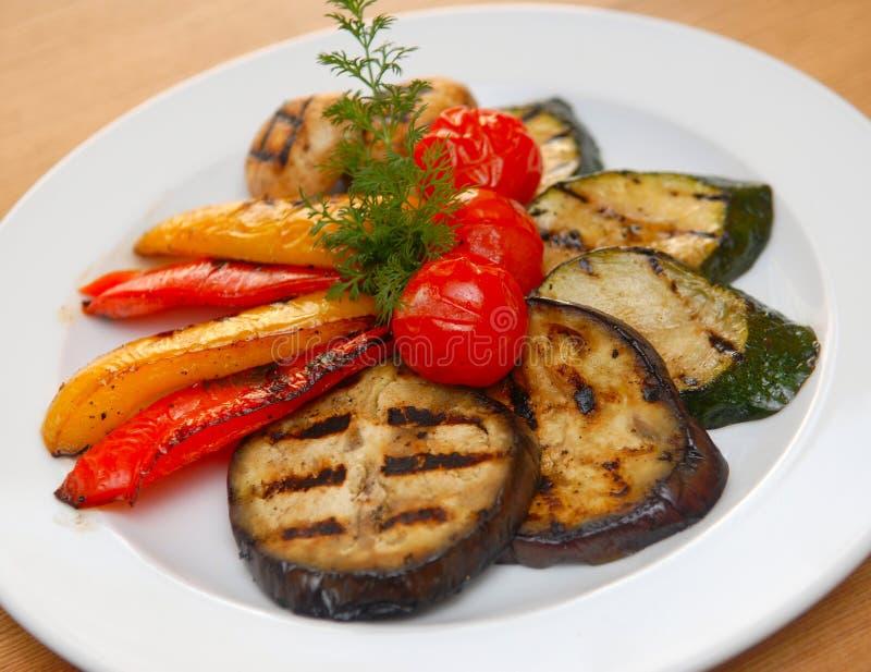 smażący warzywa zdjęcie stock