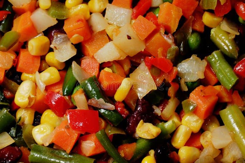 smażący warzywa zdjęcie royalty free