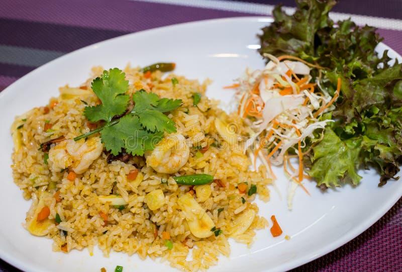 smażona ryżowa krewetki obraz stock