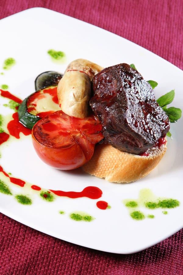 smażona wołowina zdjęcie stock