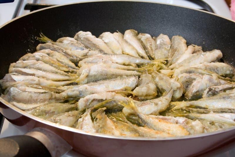 smażone ryby zdjęcie royalty free