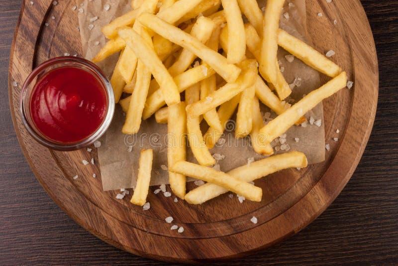 smażone ziemniaki zdjęcia stock
