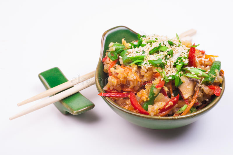 smażony ryż zdjęcia stock