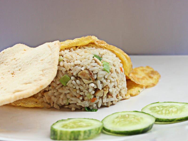 smażony ryż zdjęcie stock
