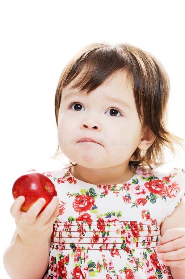 Smaak van appel royalty-vrije stock foto