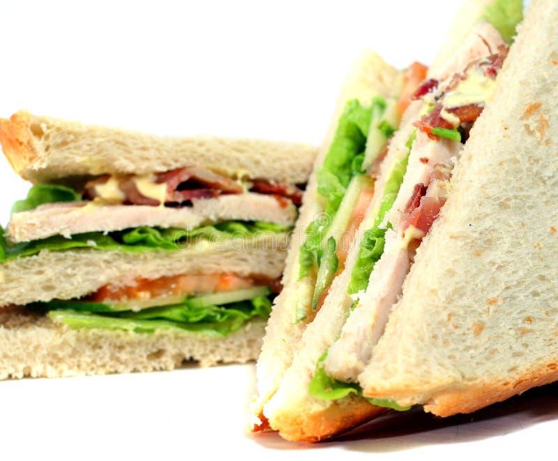 smaczna świetlicowa kanapka fotografia royalty free