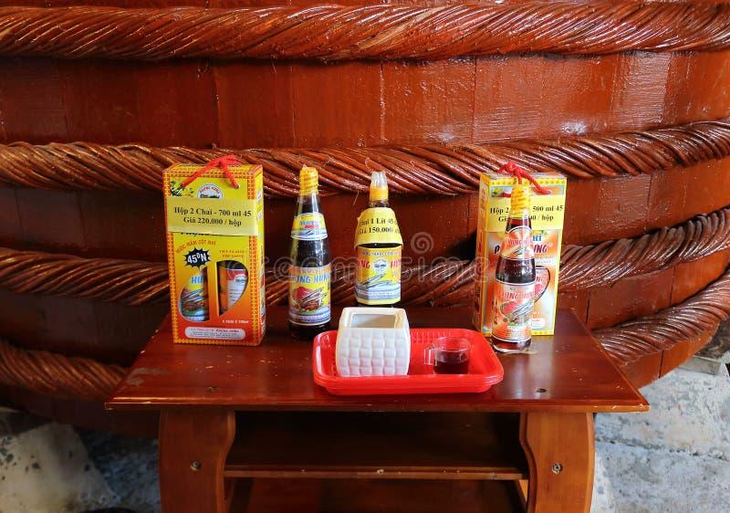 Smaczny rybi kumberland przy ro?lin? w Phu Quoc fotografia stock