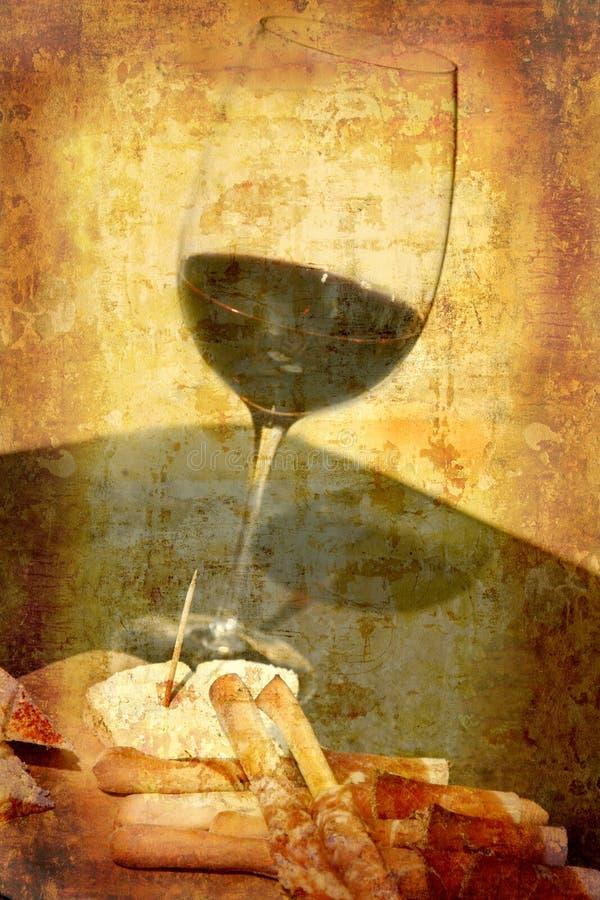 smaczny wino obraz stock