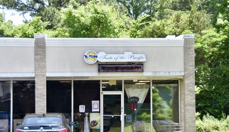 Smak Pacyficzne Filipińskie restauracje, Memphis, TN zdjęcie stock