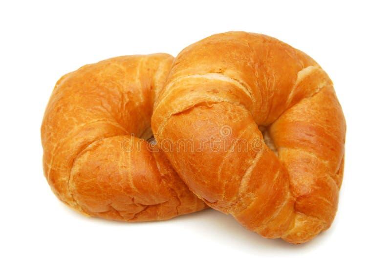 Smakelijk croissant royalty-vrije stock foto